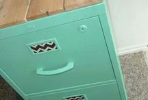 Filing cabinet upcycle project