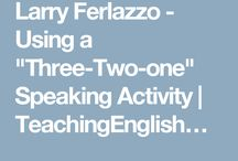 "Using a ""Three-Two-one"" Speaking activity"