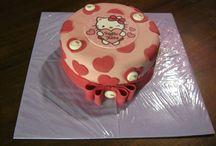 Meine Hello Kitty - Torten