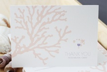 Coral / Ready to go, print-it-yourself coral wedding invitations and stationery http://shop.illknowitwheniseeit.com