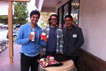 The Priceonomics Team / Office happenings. Meet the team: Omar, Rohin, Michael, and James.
