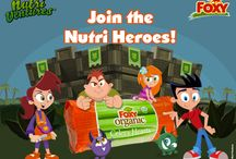 Nutri-Ventures / Foxy Produce and Nutri-Ventures want your kids to eat healthy!