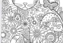 fresque coloriage