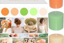 My wedding colour palette