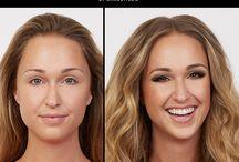 Make up Bevor After