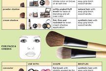 Beauty, hair, make-up