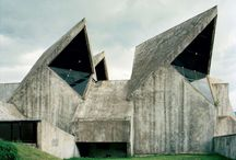 WiErd Architecture / Brutalism, Deconstructivism, or any architecture that's just different and weird  / by Sidar Gautam