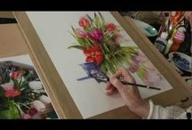 Watercolor tutorials / by Lynnette Bailey