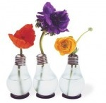 Manualidades con bombillas / Recopilación de imágenes de trabajos manuales donde se reutiliza o recicla bombillas incandescentes.