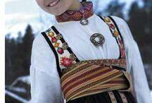 Bunad - Telemark / Beltestakk Aust Telemark Folkedrakt
