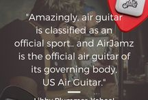 AirJamz | Reviews / AirJamz is a new connected toy that pairs with your device and turns your moves and motions into music! The app is free to download, and comes with 100+ unique instruments to play—bring on the iconic air guitar riffs, air drums, SFX and more! Order your #AirJamz today at http://amzn.to/2bxgZnV or playairjamz.com