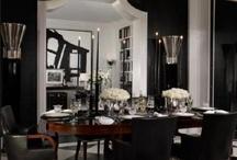 Black and white interiors / zwart/wit - black and white
