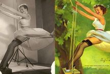 Pin-Ups from 1930 + / by Roberta Przy