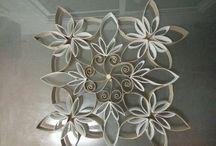 Arte con rollos de papel