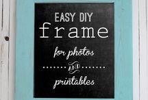Frame Art / Making frames for art