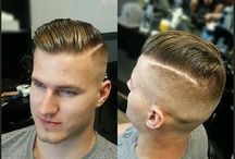Mens haircut