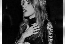 Stevie Nicks like a bird in flight