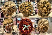 плетение кос,стрижки,прически