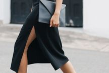 Dresses and minimalism / Minimalist dress ideas for thoes who are inspired by simplicity.