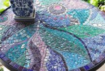 Mosaic table ideas