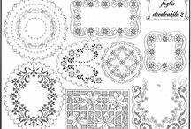 disegni di centri