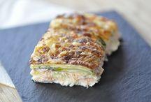 gratin courgettes saumon