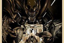 Poster Mondo / SAGA ALIEN / Poster de la Saga Alien