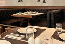 steakhouse interior