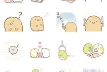 Sticker sets / Awwww! So kawaii!