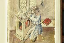 Scribes in Manuscripts / I know there are more scribe images out there, but haven't found them at this time.