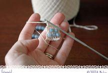 Come lavorare le perline con l' uncinetto
