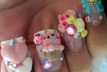 Kawaii nail art :3