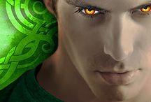 Omega, by Susannah Sandlin / Book 3 in the Penton Vampire Legacy series.