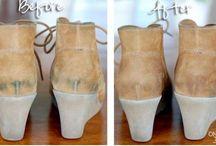 Cómo limpiar zapatos de ante