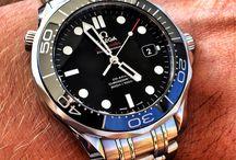 Omega Heaven - Seamaster Diver 300m & Speedmaster Moonwatch / Watches, Omega watches, Omega, Seamaster diver 300m, Speedmaster Moonwatch, Moon