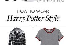 Harry Potter / Hogwarts..... 9 3/4 Harry, Hermione en Ron<333333333