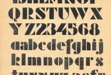 Stencil /Fonts / writing