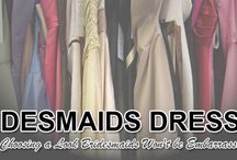 Bridesmaids Dresses: Tips for Choosing a Look Bridesmaids Won't be Embarrassed About / Before you finalize the decision on what your maids will wear, use these tips to ensure you pick the right look. http://www.kimberleyandkev.com/bridesmaids-dresses-tips-choosing-look-bridesmaids-wont-embarrassed/