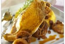 Volaille : poulet, canard, dinde, pintade, coq, caille, lapin
