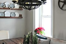 Farmhouse Lighting / The best sources for farmhouse lighting to get the fixer upper style in your own home.  The best budget friendly and affordably farmhouse light fixtures, including sconces, chandelier, and pendant lighting.