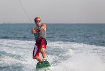 Wakeboarding / waterskiing and wakesurfing