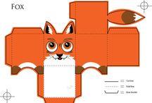 róka/ fox/ fuchs