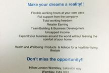 Make your dream a reality / Products & Recruiting