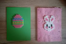 My hama beads / Accessories made of hama beads by me