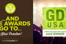 2016 GDUSA American Package Design Awards / Kiwi Creative's winning entries in the 2016 GDUSA American Package Design Awards competition.