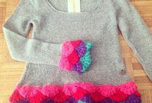 ropas con crochet
