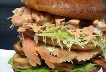 hamburger di Pesce della Corte dei Mangioni Palermo