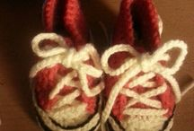My corchet. / My crochet attempts