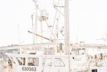 Sailboat engagement photos