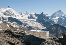 mountain huts + shelters